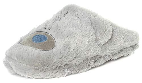 Tatty Teddy Me to You Damen-Hausschuhe, flauschig, Grau, Größe 37-42, Grau - grau - Größe: 39 EU