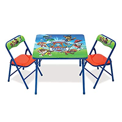 Paw Patrol Activity Folding Table And Chair Sets