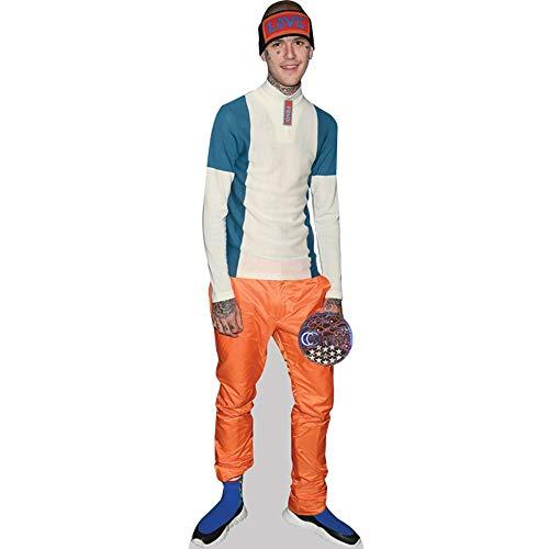 Celebrity Cutouts Lil Peep (Orange Trousers) Pappaufsteller lebensgross