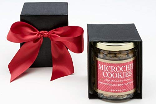 The World's Tiniest, Most Irresistible Chocolate Chip Cookies - Give The Gift Of Gourmet Microchips - 5oz Fresh Mini Cookies In Gift Box - Small Batch Handmade In Texas