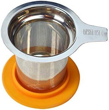 Tiesta Tea Brewbasket Stainless Steel Tea Basket for Loose Leaf Tea Reusable Tea Infuser with product image