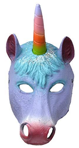 VENTURA TRADING AM5 Mscara de Unicornio Poni Mascarilla de Unicornio Mascara Veneciana Mascarada Mscara de Caballo de Fiesta Mscara de Animal