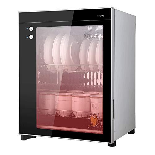 JNWEIYU Ultraviolet Escritorio Desinfección Gabinete, Oficina de la Taza de té automática vajilla y Palillos gabinete, Conveniente for el vajilla con Alta Temperatura de la Resistencia a 75 ° C
