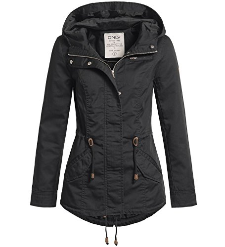 ONLY Damen Parka New Lorca 15144774 Black L