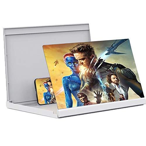 Lupa de pantalla 20/26/32 AMPLIFICADOR DE PANTALLA DEL TELÉFONO, PANTALLA DE TELÉFONO DE BLU-RAY BLU-RAY ARLARGAR, Lupa de la pantalla del teléfono móvil para películas, videos, compatible con todos l