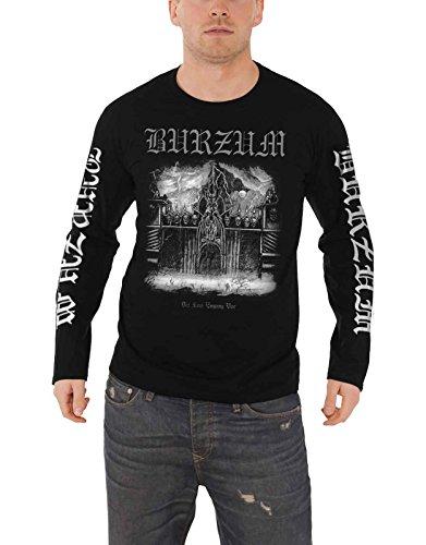 Burzum T Shirt Det Som Engang VAR 2013 Nue offiziell Herren Schwarz Long Sleeve