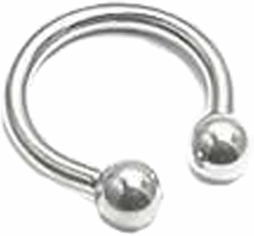 Painful Pleasures 10g Externally Threaded Stainless Steel Circular Barbell