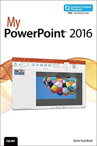 My PowerPoint 2016 (includes Content Update Program) (My...) (English Edition)