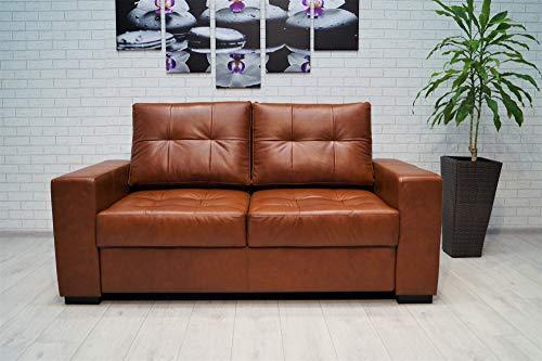 Quattro Meble echt lederen 2,5 zits bank Mallorca Pik extra breedte 175 cm lederen sofa echt leder bank grote kleurkeuze !! !