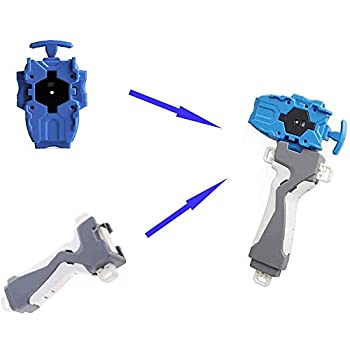 Beyblade Toys Launcher and Grip Gyro Burst Starter String Launcher Strong Spining Top Toys Accessories