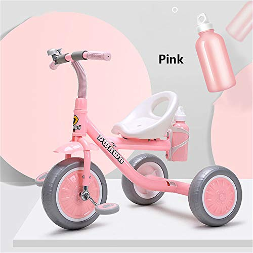 Great Features Of Framy Child Tricycle, Kids Bike Baby Walker Three Wheels 2-6 Years Old Gift Boys G...