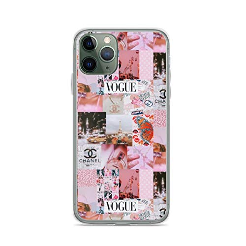 Aesthetic Pink Y2k Theme Collage Phone Case Compatible with iPhone 6 6s 7 8 Plus X Xs Xr 11 Pro Max Samsung Galaxy Note S9 S10 S20 Plus