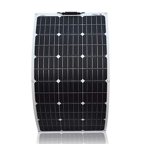 Xinpuguang Panneau solaire souple mono 100W, Blanc