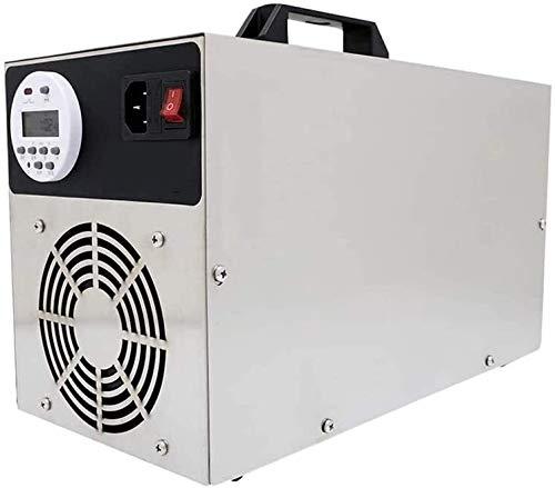 MGWA Purificador de Aire Ozono Portátil Generador Comercial, Industrial con Los Purificadores De Aire De Ozono Temporizador Digital Adecuado For Familias Hoteles Escuelas
