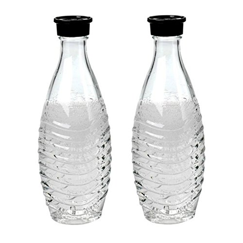 sodastream Glass Carafe - For Penguin or Crystal Machine Only - Pack of 2