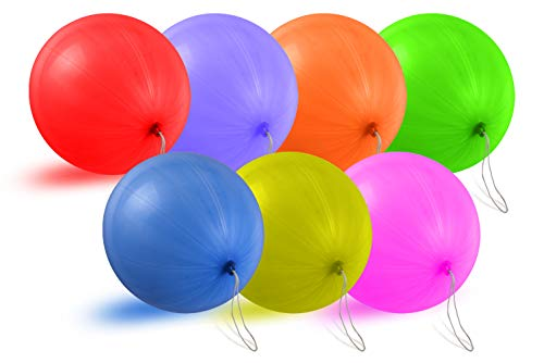 Punching Balloons Party Favors For Kids - Heavy Duty, Premium Quality, Large 18 Inch Punch Balloons (30 Count) (Assorted)
