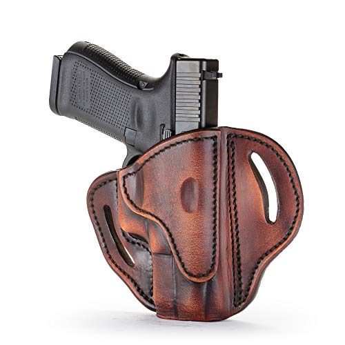 1791 GUNLEATHER Glock 19 Holster - Right Hand OWB G19...