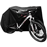 VACNITE Waterproof Bike Cover for Outdoor Bicycle Storage - Extra Large Size for 1-2 Bikes - Heavy Duty 210D Oxford Ripstop Material, Windproof, Dustproof, Anti-UV - Suits Mountain Bike, Road Bike