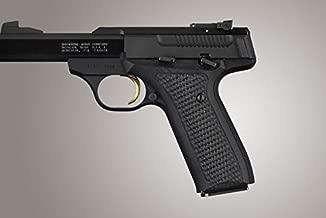 Hogue Browning Buckmark URX Piranha G10 Gun Grips, Solid Black