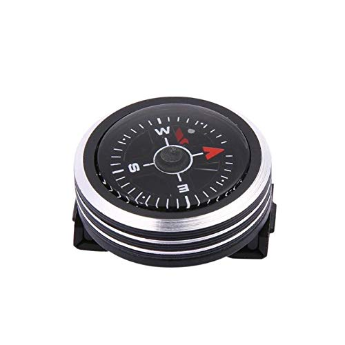 Liutao Compasses Mini Horloge Band Knop Kompas voor Paracord Armband Survival Mini Pocket Kompas Outdoor Wandelen Camping Accessoires duurzame Kompassen