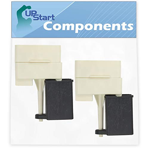 2-Pack W10613606 Refrigerator Compressor Start Relay & Capacitor Replacement for Amana ASD2620HRW Refrigerator - Compatible with W10613606 Start Device Relay Overload With Capacitor