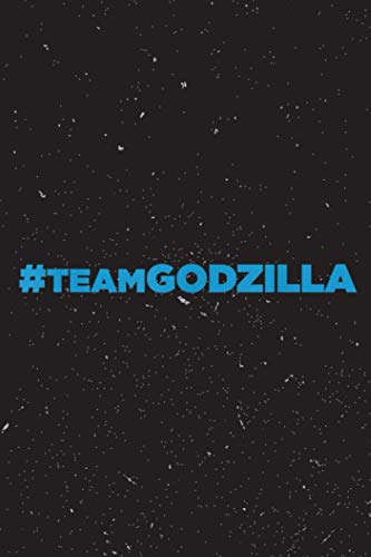 Godzilla vs Kong - Official Team Godzilla Blue Color Getting Things Done Planner