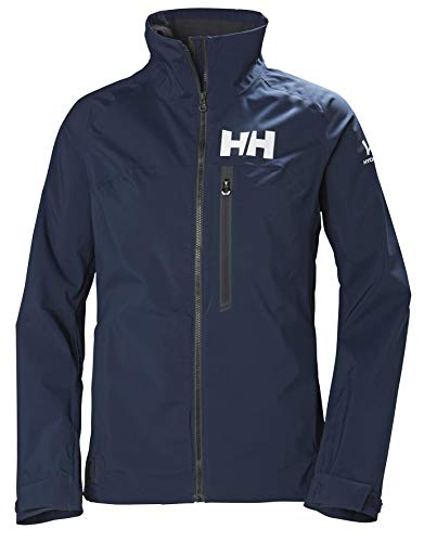 Helly Hansen Damen Hp Racing Windresistent Y Atmungsaktiv Fleecekragen Wassersport Segeln wasserdichte Jacke, Navy, M
