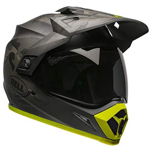 Bell MX-9 Adventure MIPS Dirt Helmet (Stealth Camo Black/Hi-Viz - Large)