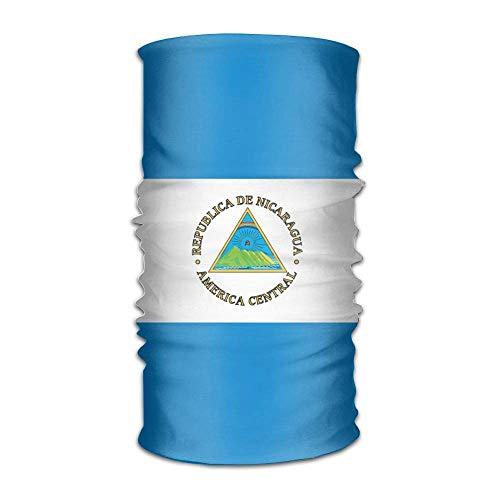 BDGAjdka Bandanas de Bandera de Nicaragua Bandanas