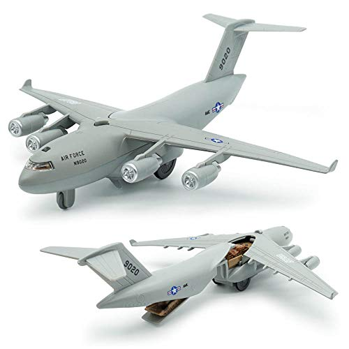 CORPER TOYS Diecast Plane Metal Pull-Back Aircraft Toys Air Plane Model for Kids Boy Birthday