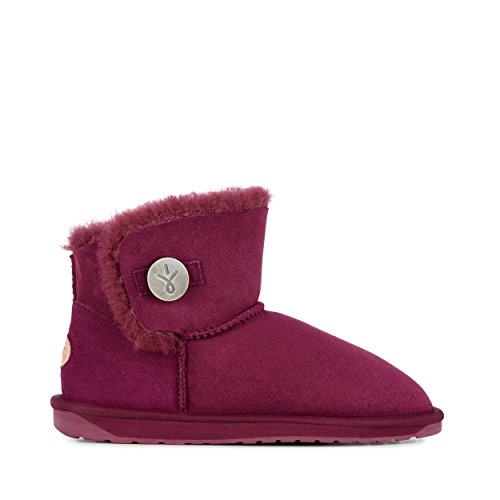 EMU Australia Womens Denman Mini Winter Real Sheepskin Boots