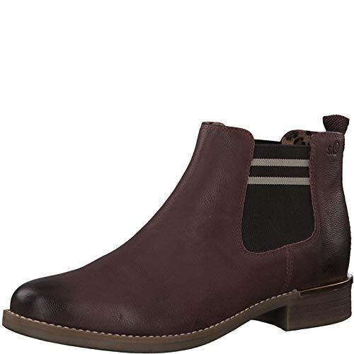 s.Oliver Damen 5-5-25335-33 Chelsea Boots, Rot (Bordeaux 549), 39 EU