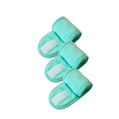 Fascia per capelli larga regolabile Yoga Spa Bath Shower Makeup Wash Fascia cosmetica per il viso per le donne Accessori per il trucco delle donne