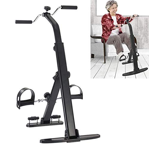 LLP Portable Pedal Exercise Bike for Arm and Leg Exercises, Fitness Equipment for Seniors and Elderly People, Physiotherapy Leg Trainer