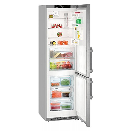 Liebherr CBef 4815 Comfort koelkast en vriescombinatie, vrijstaand, 357l A+++, roestvrij staal