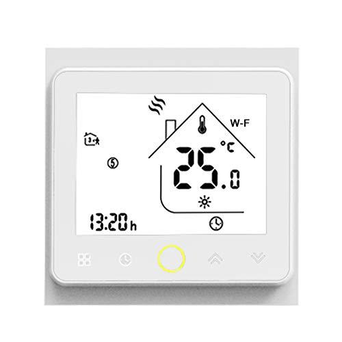 Galapara WiFi Programable Digital Calderas De Gas Termostato Wi-Fi Smart Thermostat Temperature...