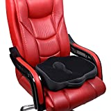 BIG-BEN Memory Foam Orthopedic Coccyx Plus Seat Cushion for Office...