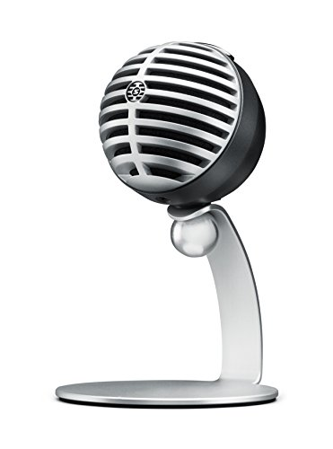 SHURE コンデンサーマイク 実況/配信/在宅勤務/ウェブ会議 MOTIVシリーズ MV5 iOS対応 グレー MV5A-G-LTG-A...