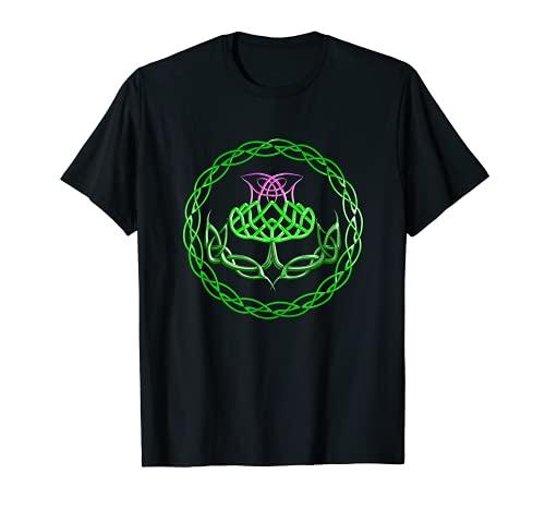 The Scottish Thistle Celtic Knot T-Shirt