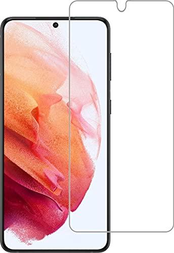 Protector de pantalla para Samsung Galaxy S21, cristal templado, compatible con carcasas
