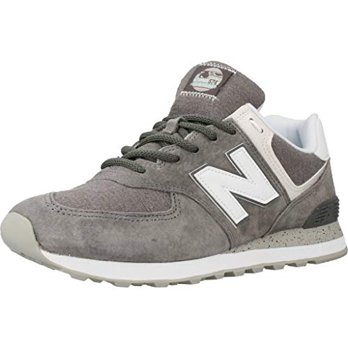New Balance 574v2, Baskets Homme, Gris (Grey/White SPW), 43 EU
