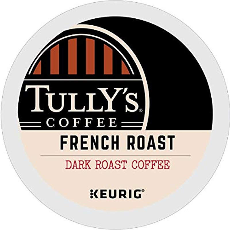 Tully S Coffee French Roast Single Serve Keurig K Cup Pods Dark Roast Coffee 72 Count 3 Boxes Of 24 Pods