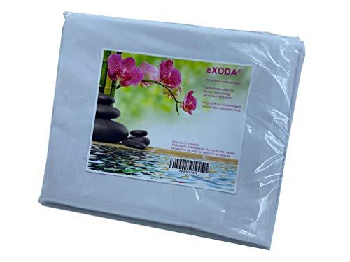 eXODA Inkontinenzlaken Unterlaken Matratzenauflage Weiss 200x230 cm Inkontinenzauflage Inkontinenz-Bettlaken auch für Kinder