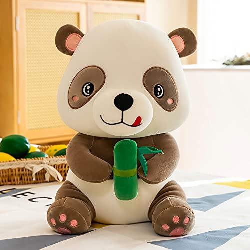 Anyinghh 23-60 cm tamaño Mediano simulación Panda Gigante Juguete de Peluche Abrazo Oso muñeca Almohada muñeca de Trapo muñeca Oso niño Regalo de cumpleaños Femenino 30 cm marrón