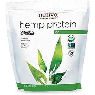 Nutiva Organic Hemp Protein 15g, 3-Pound Bag