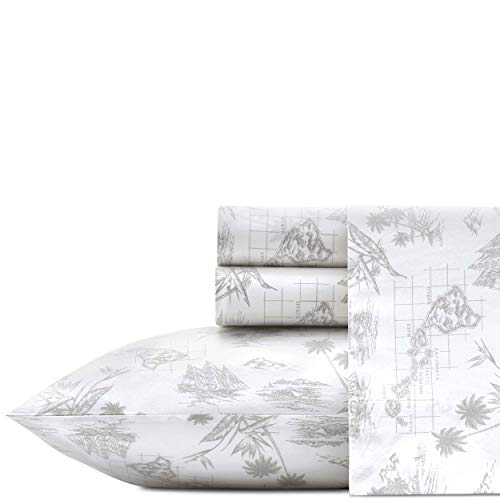 Tommy Bahama Vintage Map Sheet Set, Twin