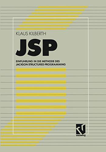 JSP: Einführung in die Methode des Jackson Structured Programming