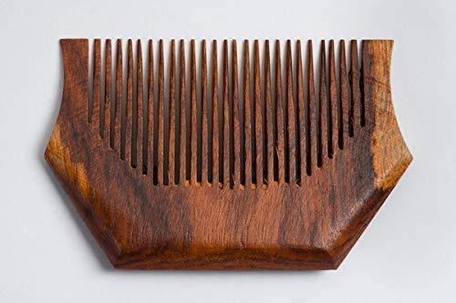 Bestdeal Panjabi Turban Comb Kesh Kanga Sikh Hair Comb Kangi Standard Size Comb Wooden Comb Pack of 2