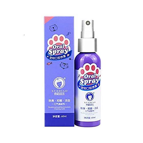 CatcherMy Pet Ambientador Spray Hund Katze Zahnreiniger Cuidado bucal Aliento Fresco Enjuague bucal Ungiftige gesunde Zahnpflege