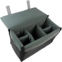 DRF Camera Case Insert Shockproof DSLR Camera Padded Storage Bag Anti-scratch BG167 (Grey)